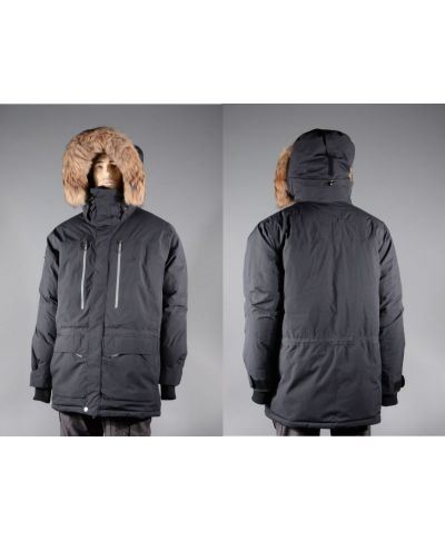 Bunda Usque Down Parka Geoff Anderson, Pirate black